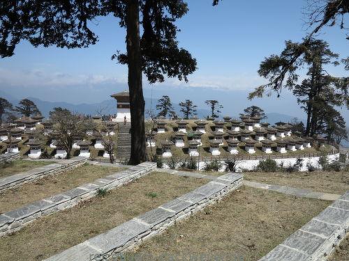 108 chörten bhutan
