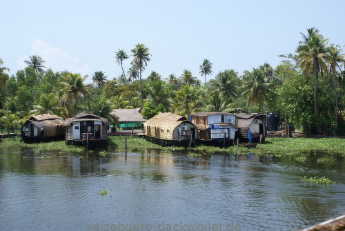 Back waters kerala indien