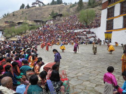 Fest in paro bhutan