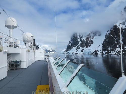 Lemaire passage antarktis