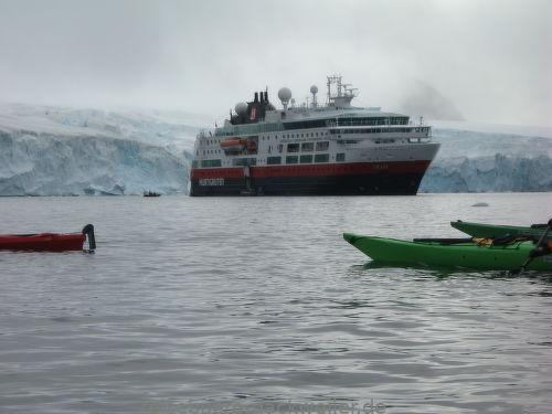 M s fram antarktis