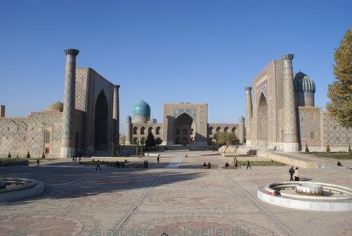 Samarkant usbekistan