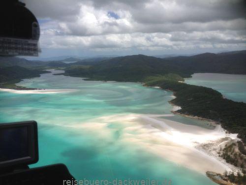 Whitsunday island australien